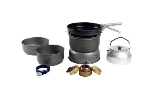 Set de hornillo Trangia 25-4 de aluminio anodizado con sartén